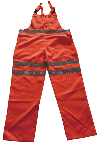 High Visibility Safety Bib Pant (DF1001) pictures & photos