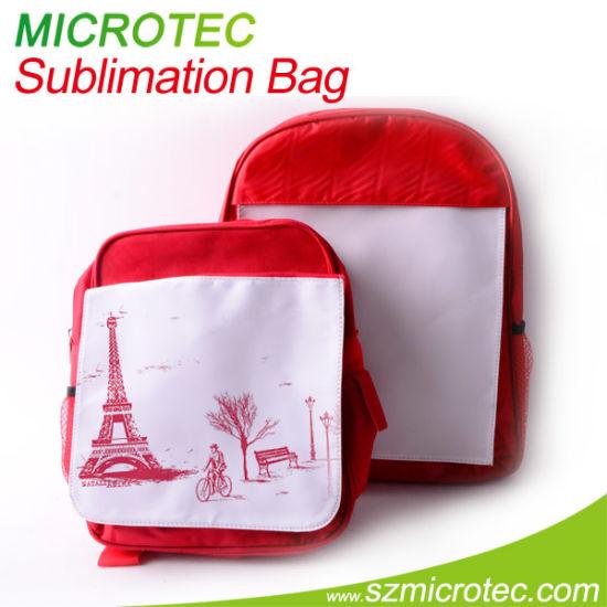 China Heat Transfer Small Size Sports Backpack DIY - China Canvas ... 984e888ae1d91