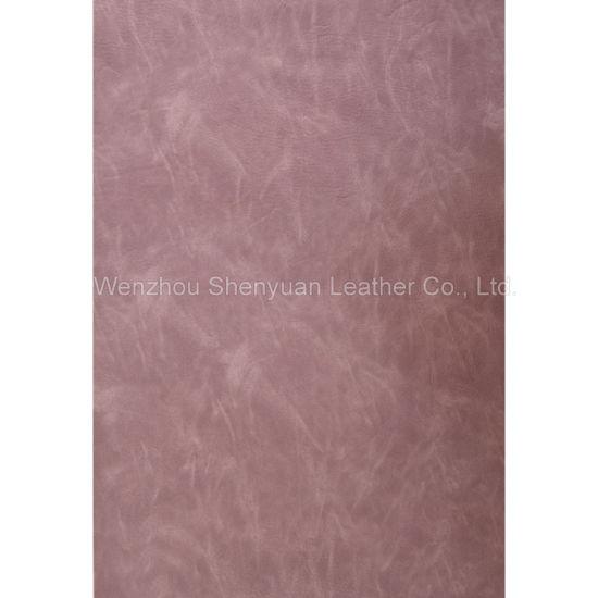 PU Leather Yangbuck Leather (C-220-7)