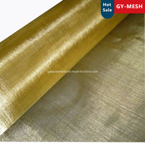Brass/Copper/Phosphor Wire Mesh for Emf Faraday Cage/Wove Wire Mesh 10-300 Mesh