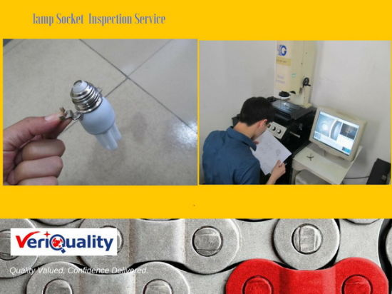 Lamp Socket Inspection Service and Quality Control Service pictures & photos