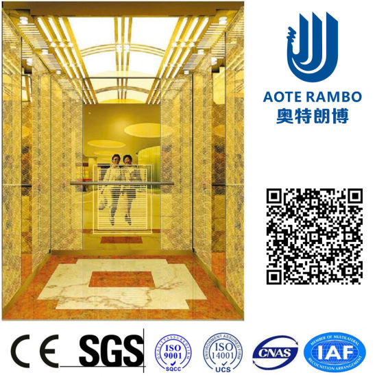 Gearless Traction AC-Vvvf Drive Passenger Elevator with German Technology (RLS-210)