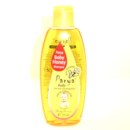 Parya Natural Healthy Safety 200ml Pure Mild 2in1 Baby Body Care Honey Shampoo