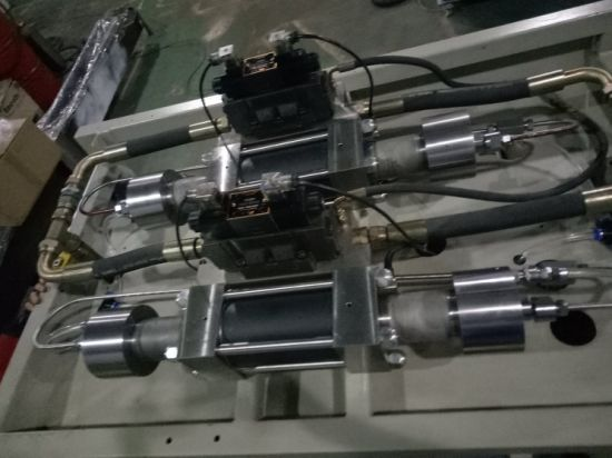 High Pressure Double Intensifiers Water Jet Pump for Water Jet Cutting Machine pictures & photos