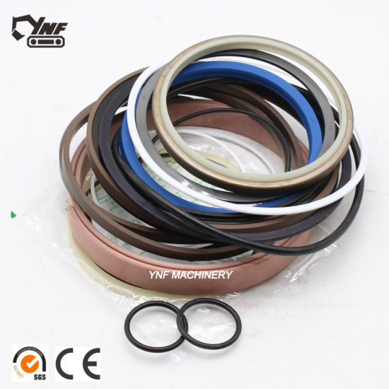 High Quality Excavator Cylinder / Hydraulic Pump / Swing Motor / Joystick  Seal Kits Hydraulic Seal Nok Sj Hallite Low Sealing Price