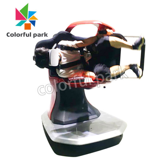 Colorful Park Virtual Reality Amusement Equipment Video Game Machine