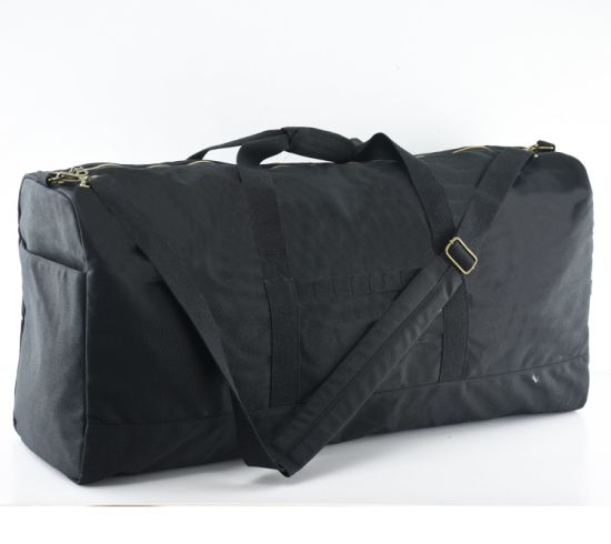 Heavy Duty Canvas Odor Smell Blocking Carrying Duffle Bag with Carbon Lining for Smoker