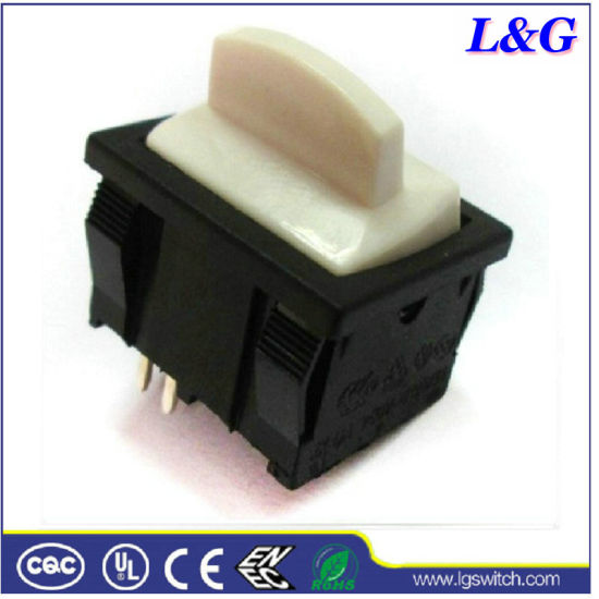 Electrical Air Conditioning Thermostat 16A 2pin Button Toggle Micro Rocker Switch (SS24)