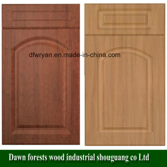 Kitchen Furniture Parts PVC Film MDF Kitchen Cabinet Door pictures & photos