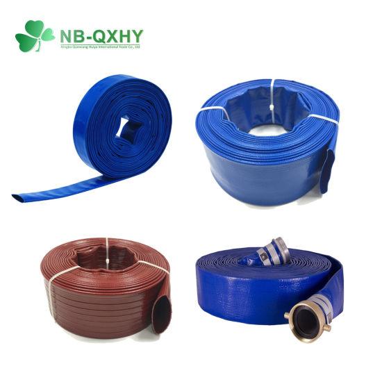 "High Quality 3/4""-16"" Water Irrigation Hose PVC Layflat Discharge Hose"
