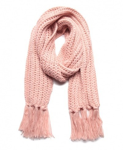 Fashion 100% Acrylic Knitted Knitting Scarf pictures & photos