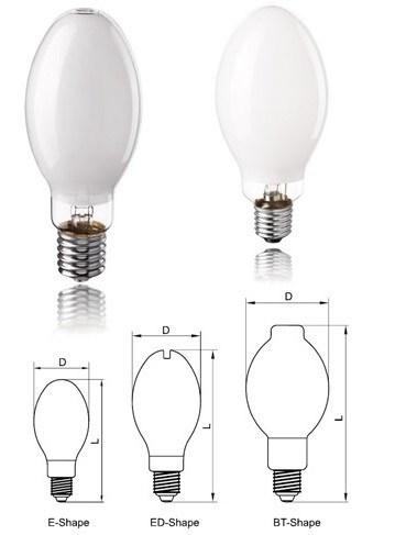 High Pressure Fluorescent Mercury Vapor Lamps Low Price and Good Quality 80W/125W/175W/250W/400W/1000W