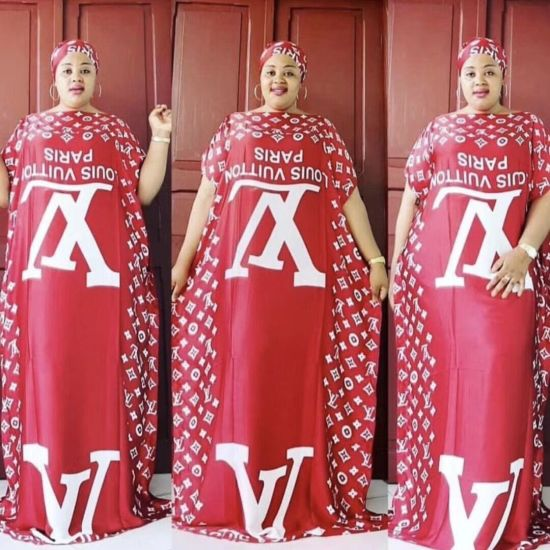 African Kitenge Dress Print Dresses for Lady Dashiki Dresses