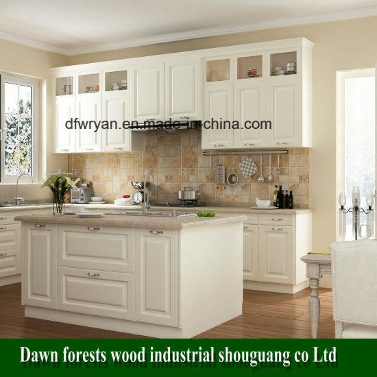 Pvc Kitchen Cabinet Doors: China Kitchen Furniture Parts PVC Film MDF Kitchen Cabinet