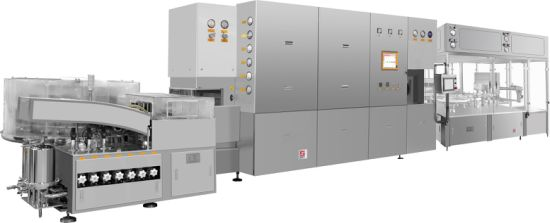 Injectable Liquid Washing-Drying&Sterilization-Filling&Rubber Stoppering-Sealing Line
