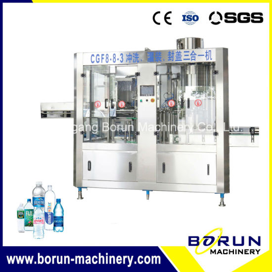 Plastic Bottle Water Making Machine / Production Line Price (CGF8-8-3) pictures & photos