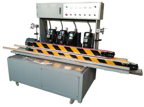 H-Ld4 Multi-Function 4 Motors Straight Line Glass Edging Machine