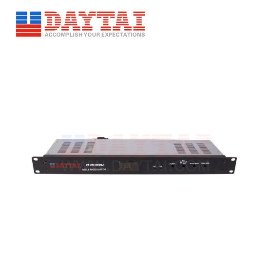Audio and Video CATV Analog Agile Modulator RF Signals CATV Analog Modulator
