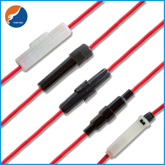 10x Inline Glass//Ceramic 6x30mm 3AG Fuse Holder Tube Twist//Lock Bulk AU STOCK!