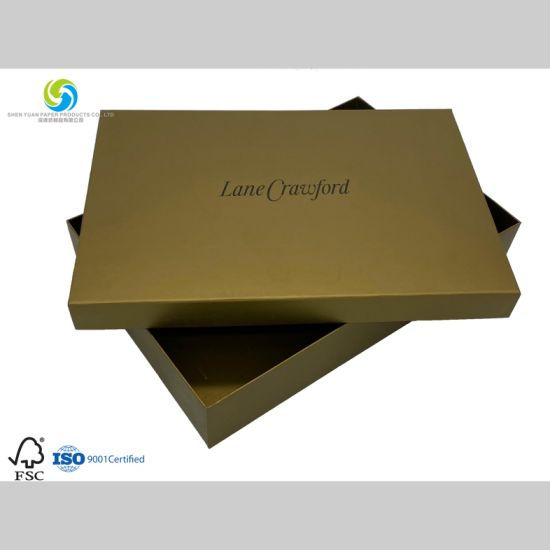 Customized Clothing or Luxury Box for Packaging Products with Coated Paper