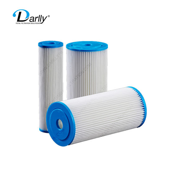 Darlly 10 Micron Pleated Polyester Filter Element Swimming Pool Water Treatment