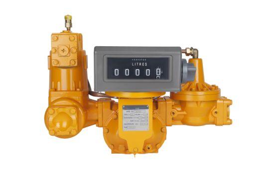 LPG Flow Meter with Valve, Liquid Control LC Flow Meter