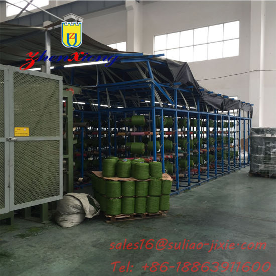 Synthetic Plastic Artificial Grass Yarn Production Line/ Plastic Sport Artifical Grass Turf Mat Extrusion Line