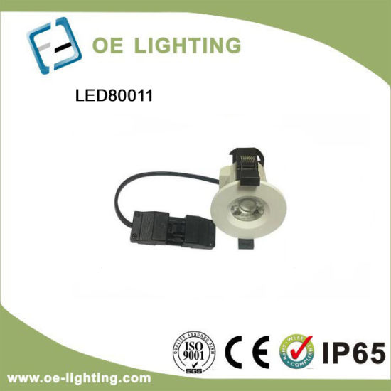 Fire Rated 3 Color Settings COB LED Downlight