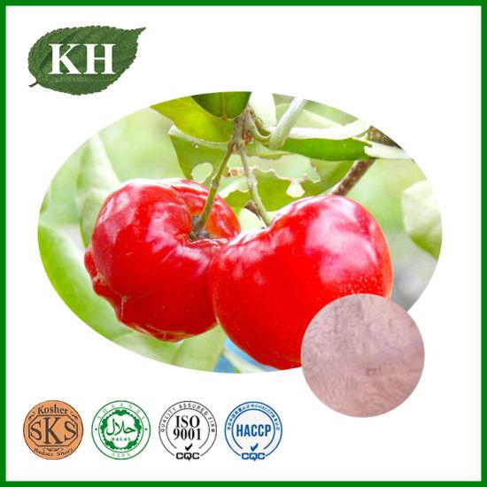 Natural Acerola Cherry Extract: Vitamin C 17%, 25%