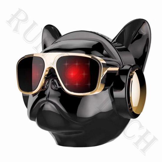 Yzs-M09 Wholesale Bulldog Wireless Portable Puppy Dog Head Bluetooth Speaker