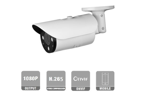 Fsan 2MP IR Night Vision Outdoor Waterproof IP66 HD Ai Varifocal Lens Network IP Bullet Camera
