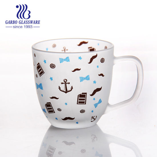 Glass Coffee Mug Glass Tea Mug Glass Travel Mug Water Glass Cup (GB094114 QT-371MST) pictures & photos