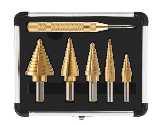 Metal drill ideal for drilling on mild steel 12 PCS,3//16 Pack in Plastic Bag Aluminum Zinc alloy etc HSS Black and Gold Coated Twist Drill Bits copper