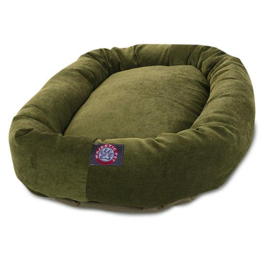 Manufacture PP Cotton Suede Cloth Pet Dog Bed Pet House