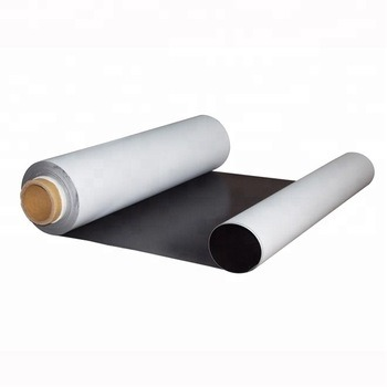 0.3~0.5mm OEM Soft Rubber Magnet Sheet Material in Piece or Roll Packing