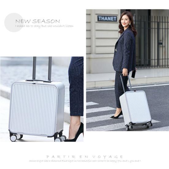 Carry-on Stylish Leisure Travel Full Aluminum Magnesium Alloy Luggage Suitcase
