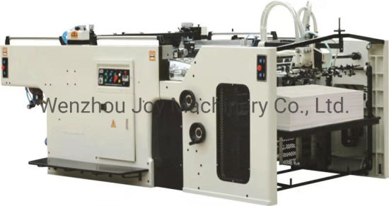 Full Automatic Stop Cylinder Silk Screen Printer Machine for Card