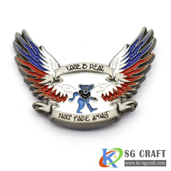 Daily Special Price Factory Direct Sales Soft Hard Enamel Souvenir Pin Manufacturer Enamel Lapel Lapel Pin Custom
