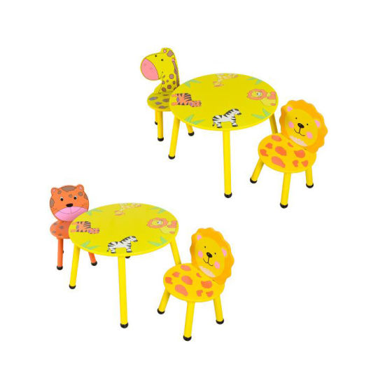 Colorful Kindergarten Wooden Kids Table and Chair pictures & photos