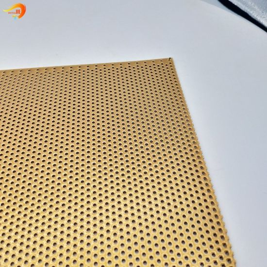 Metal Perforated Mesh with Small Holes Can Be Customized