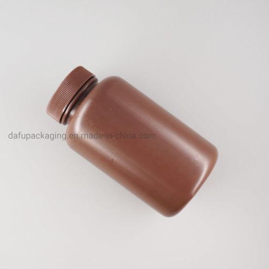 Plastic Packaging HDPE 200ml Plastic Medicine Bottle