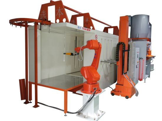 Fast Color Changing Powder Coating Machine for Powder Coating Booth