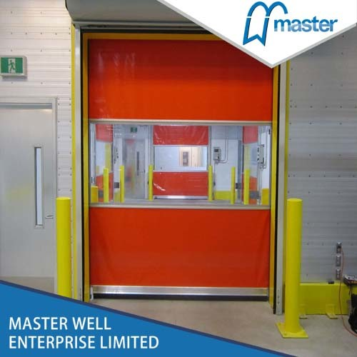 High Performance Industrial Fast Rolling Door/High Speed Roll up Rapid Door