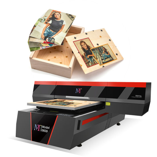 Mt Mtutech Top Selling UV Flatbed Printer UV 6090 for Phone Case and Promotional Items Printing