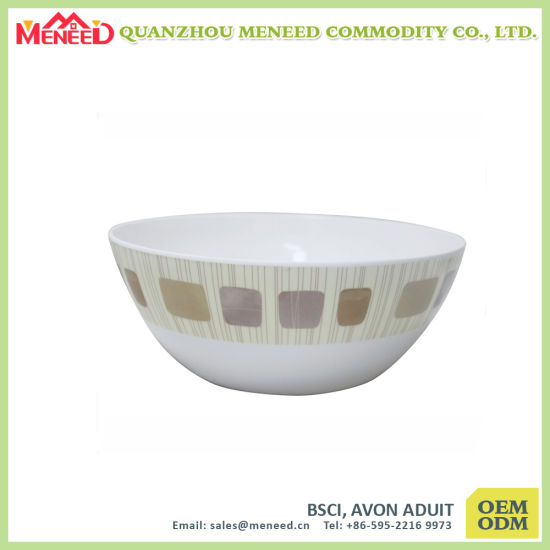 Fair Quality Eco-Friendly 100% Melamine Cereal Bowl for Sale pictures & photos