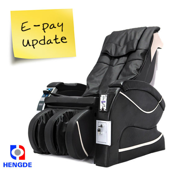 Shopping Malls, Airports, Cinemas, Hair Salons Ict Bill Vending Massage Chair pictures & photos