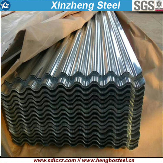 Corrugated Galvanized Steel Sheet Building Materials Roofing Sheet 0.14-0.8mm