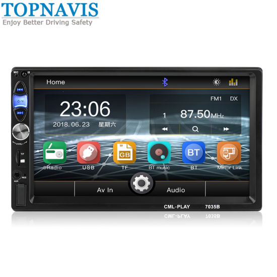 Car 7 Inch Bluetooth 2 DIN MP5 Player pictures & photos