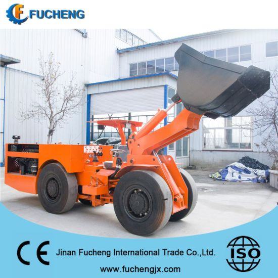 New diesel mining and railway underground loader from China factory