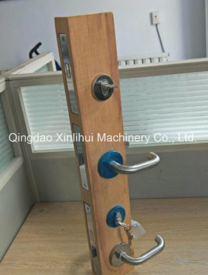 Wooden Doors Drilling Machine /Drilling & Milling Machine for Wood Door Made in China pictures & photos